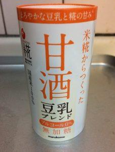 甘酒豆乳パッケージ