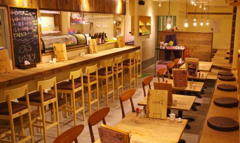 武蔵浦和の居酒屋ひだまり農園