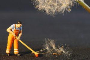 カビやほこり掃除方法