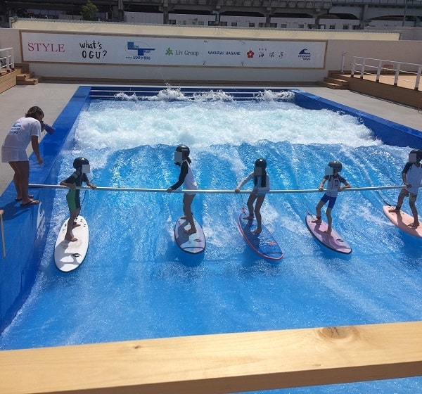 サーフィンプール 子供 体験談3
